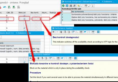 SAP ERP – kontrola dostępności materiałów ATP, część 1